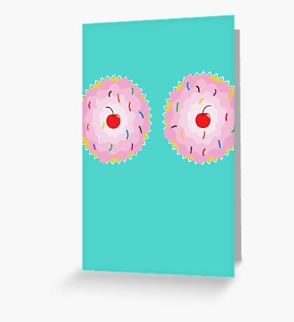 Katy Perry Cupcakes Greeting Card