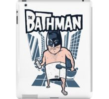 The Bathman (Incredible super hero with washing superpowers) iPad Case/Skin