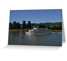 Rhine Cruiser Godesia Greeting Card