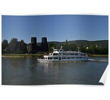 Rhine Cruiser Godesia Poster