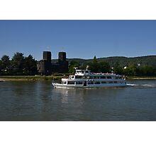 Rhine Cruiser Godesia Photographic Print