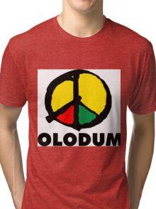Olodum Logo Tri-blend T-Shirt