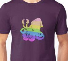Rainbow Squid Loves You! Unisex T-Shirt