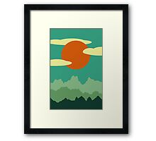 Invitation to Explore the Forrest Framed Print