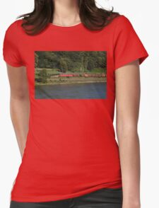 German Goods Train Womens Fitted T-Shirt