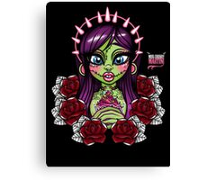 Zombies Love Cupcakes! Canvas Print