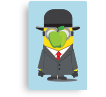 Magritte Minion Canvas Print