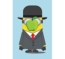 Magritte Minion Photographic Print