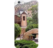 El Santuario de Chimayo Mission iPhone Case/Skin