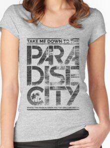 Paradise City Women's Fitted Scoop T-Shirt