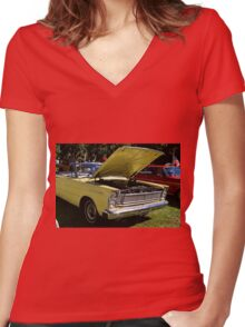 Kieran Women's Fitted V-Neck T-Shirt