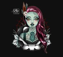 Miss Aotearoa PINK Hair Womens Fitted T-Shirt