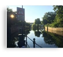 Liable to Flooding Canvas Print