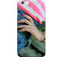 Feminine coquetry iPhone Case/Skin