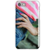 Feminine coquetry iPhone Case/Skin
