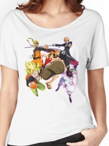 Composition anime2! Women's Relaxed Fit T-Shirt
