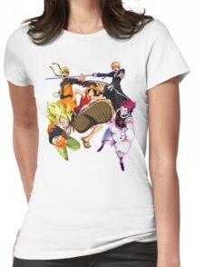 Composition anime2! Womens Fitted T-Shirt