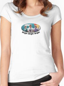 Wooderson (dazed & confused quote) - Alright Alright Alright Women's Fitted Scoop T-Shirt