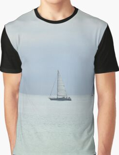 Ship on the horizon Graphic T-Shirt