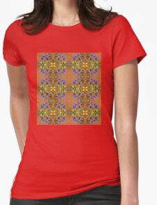 Hyacinth Patterns Womens Fitted T-Shirt