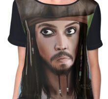 Pirate  Chiffon Top