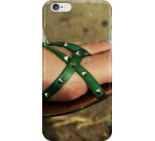 Summer shoes iPhone Case/Skin