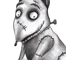 Sparky from Frankenweenie by Claire Hawken