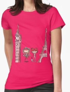 London Paris 578 Womens Fitted T-Shirt