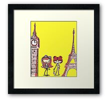 London Paris 578 Framed Print