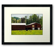 Kentucky Barn Quilt - 1 Framed Print