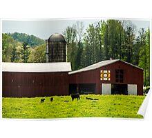 Kentucky Barn Quilt - 1 Poster