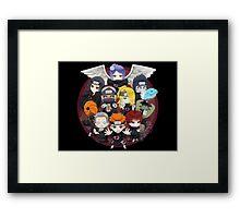 AKATSUKI CHIBI Framed Print