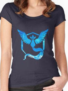 Team Articuno/Mystic (2) Women's Fitted Scoop T-Shirt