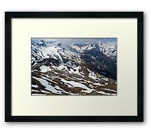 The Grossglockner Alpine Road 2 Framed Print