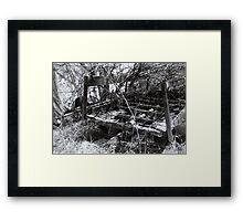 Cart Me Away Framed Print