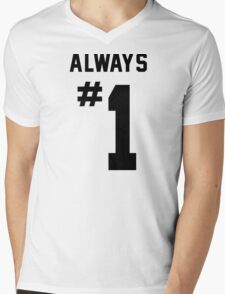 Always #1 Mens V-Neck T-Shirt
