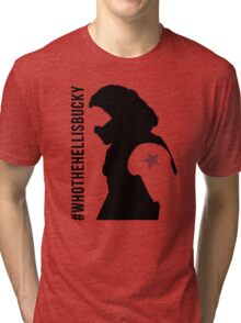 Who the Hell Is Bucky? Tri-blend T-Shirt