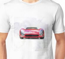 Vintage Supercar Watercolor Unisex T-Shirt