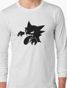 Haunter Silhouette. Pokemon T-Shirt Long Sleeve T-Shirt