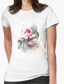 """""""Under the Care"""" from the series """"In the Lotus Land"""" Womens Fitted T-Shirt"""