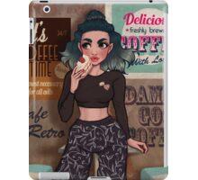 Retro Cafe iPad Case/Skin