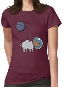 space tapir Womens Fitted T-Shirt