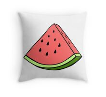 watermelon tumblr Throw Pillow