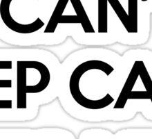Keep Calm Birthday Quote Sticker