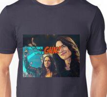 Wynonna Earp - crazy chick with a gun Unisex T-Shirt
