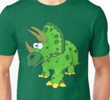 Timothy theTriceratops (Dinosaur No2) Unisex T-Shirt