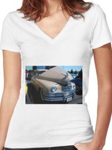 Cheryl II Women's Fitted V-Neck T-Shirt