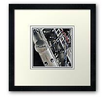 XK Engine Framed Print
