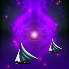 Sailing Through Space by Ann Warrenton