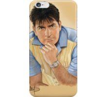 Charlie Sheen iPhone Case/Skin